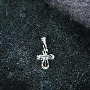 The Holy Cross Flower Pendant