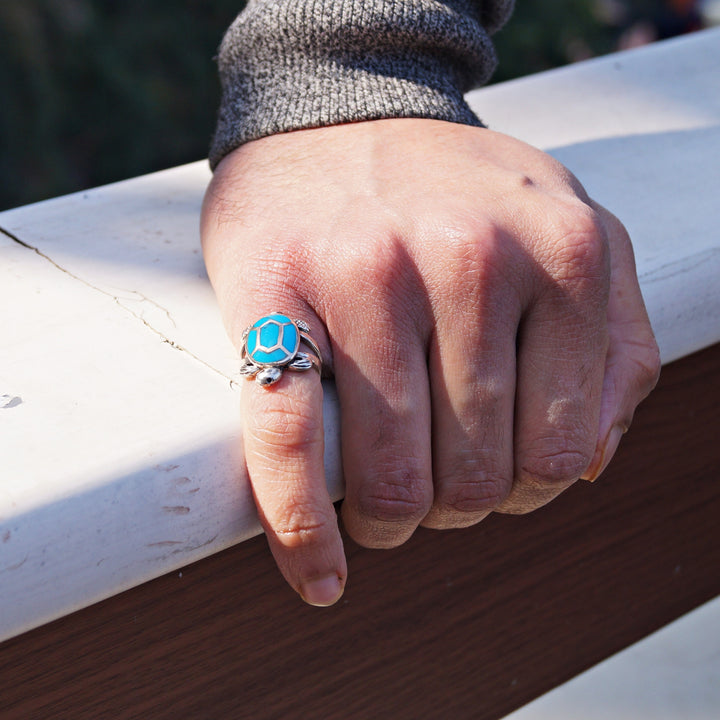 Blessed Turtle Ring