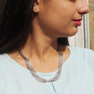The Quirky Stack Chain Necklace