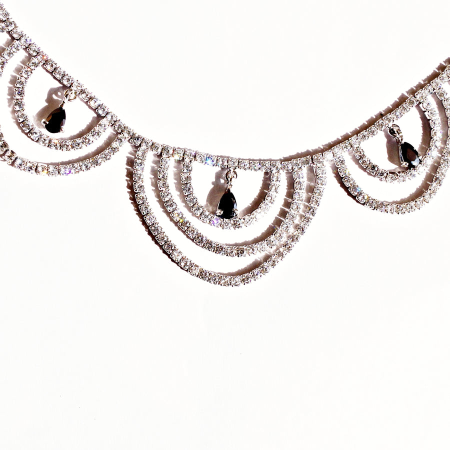 The Diamond Lace Necklace Set