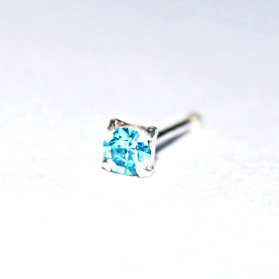 The Frozy Solitaire Nosepin (1.5mm, 2mm, 2.5mm)