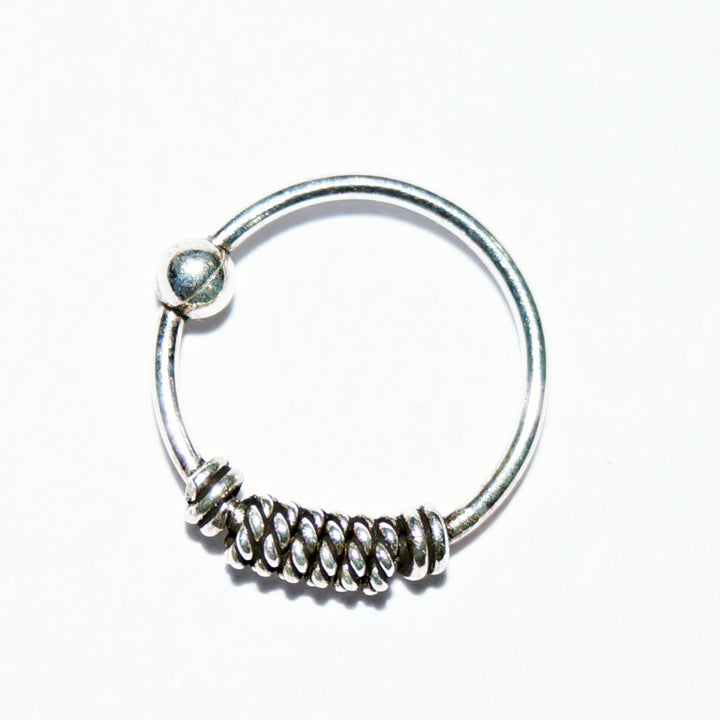Lasting Spring Bead Nose Ring
