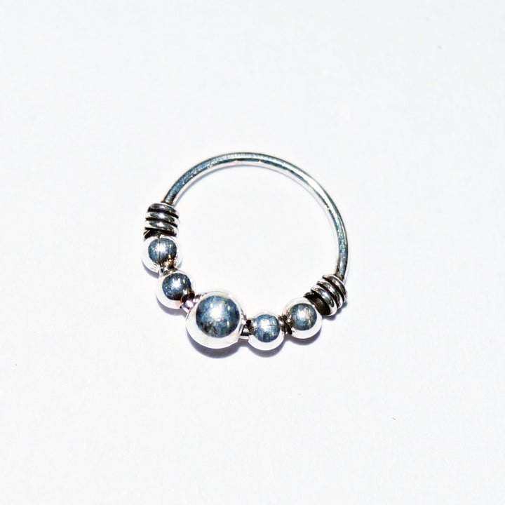 Quinary Beads Nose Ring