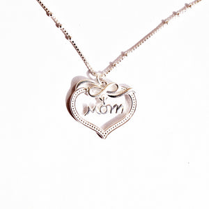 Infinity Love for Mom Pendant Chain