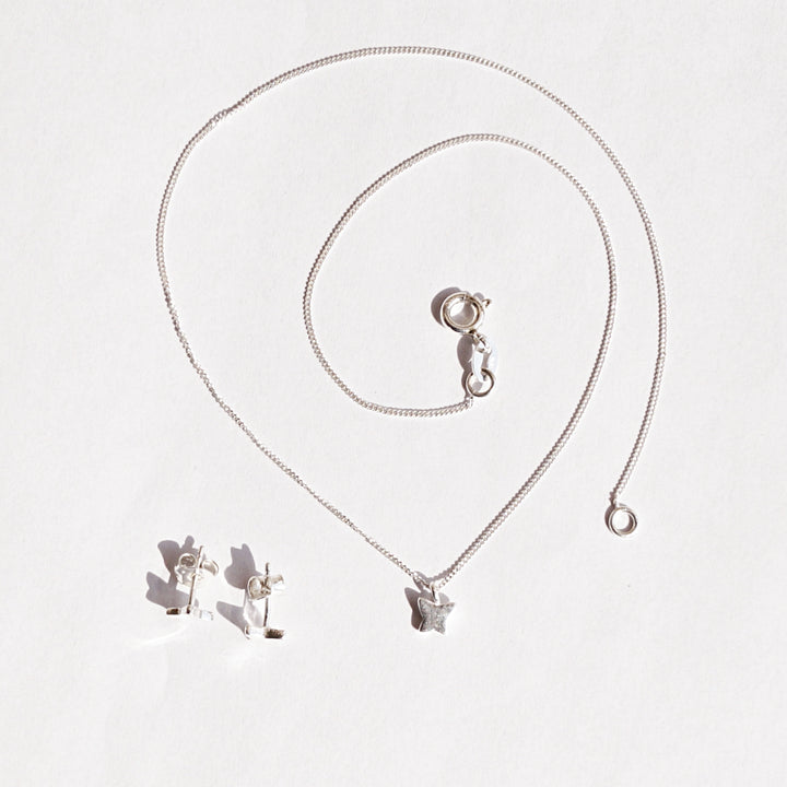 The Butterfly Pendant Set