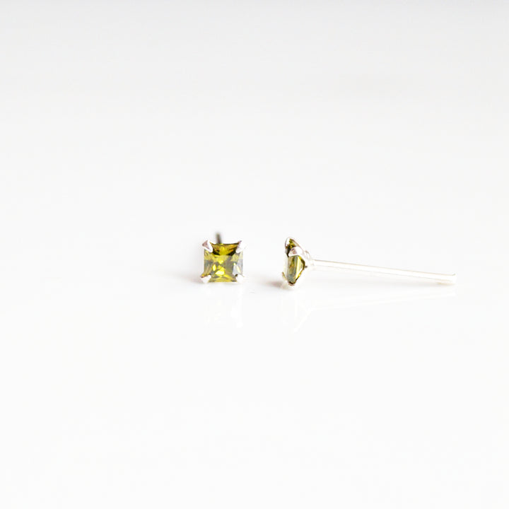Versatile Multicolour Square Studs (3mm)