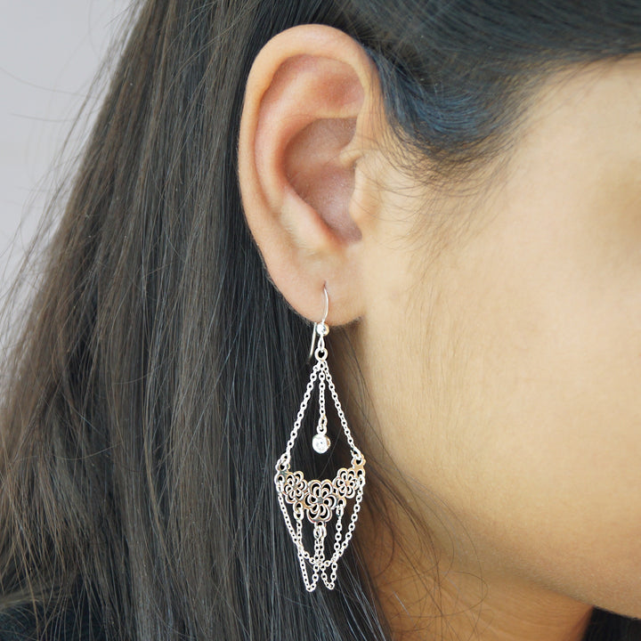 The Western Jhumer Earrings