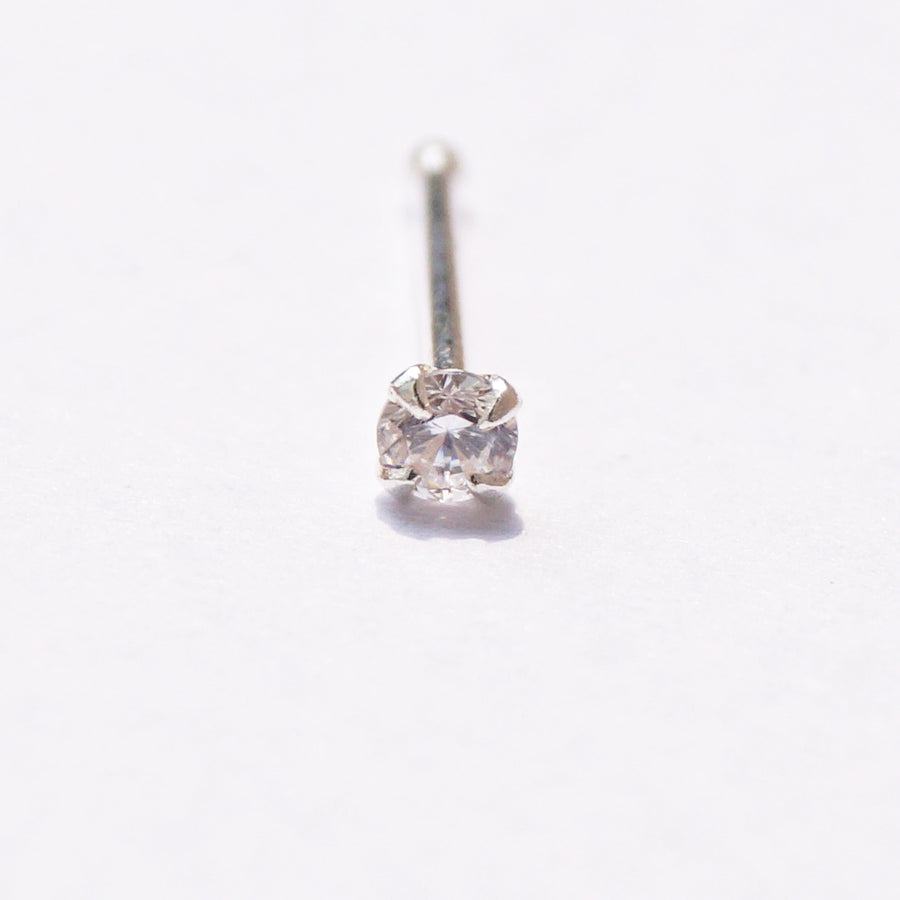 Solitaire Nosepin (2mm, 2.5mm, 3mm)