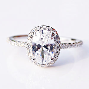 The Oval Cut Solitaire Ring