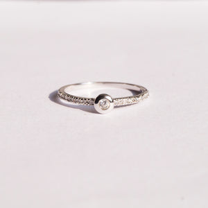 The Classic CZ Ring