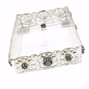 Pure Silver Mewa Box (17cm) (empty)
