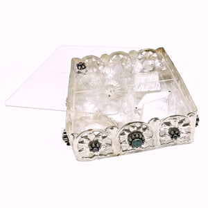 Pure Silver Mewa Box (17cm) with contents