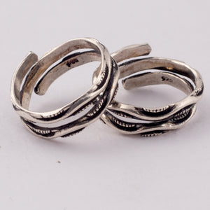 The Dual Layered - Dual Styled Toe Ring