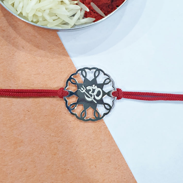 The Om and Trishul Rakhi