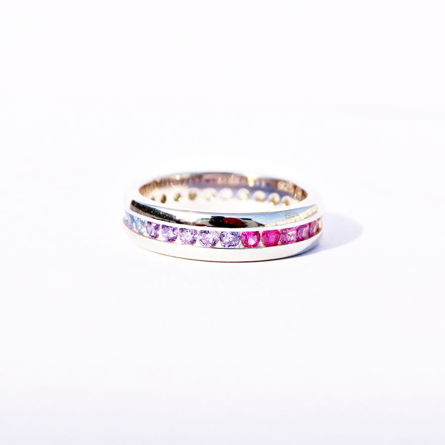 The Rainbow Band Ring