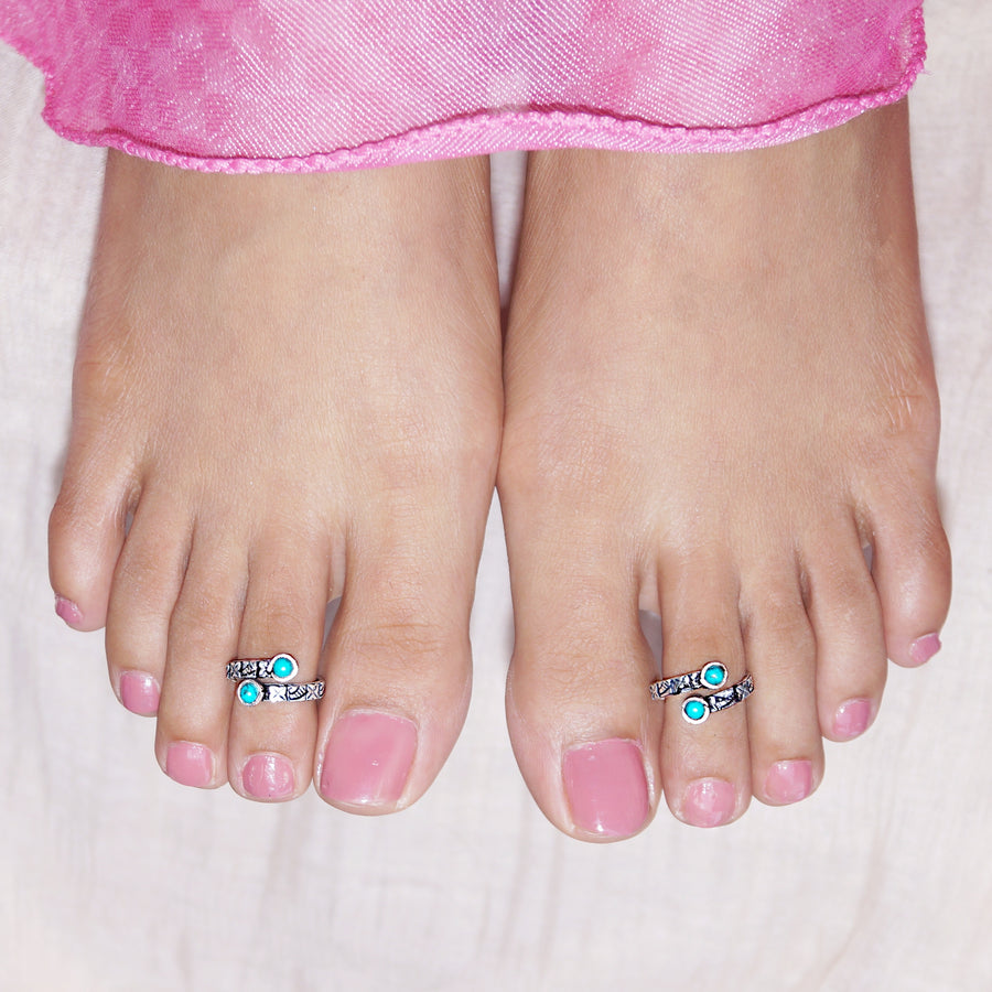 The Greek Symbol Toe Rings