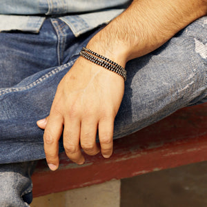 Unisex Three Layered Nazariya Bracelet