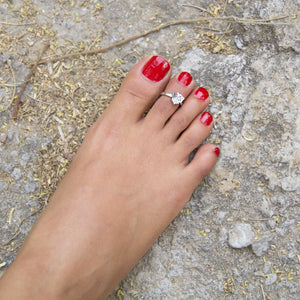 The Betel Leaf Toe Ring