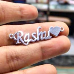 Customised Name Stencil Pendant/Necklace