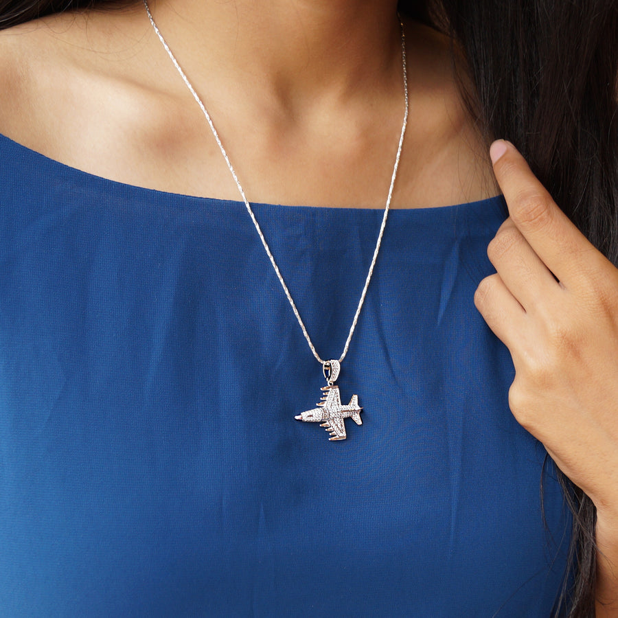 The Fighter Plane Pendant