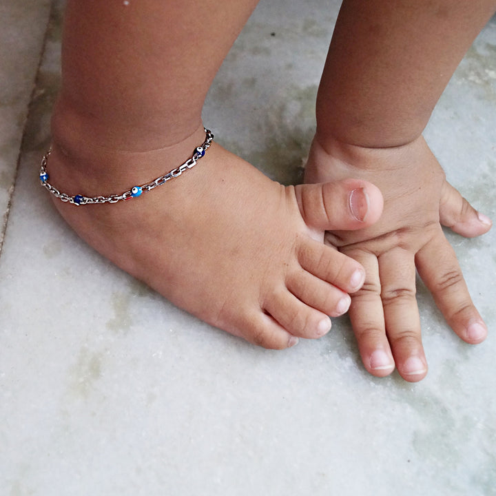 The Evil Eye Balls Kids Anklet (Single/Pair)