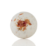 Rose Bath Bomb With Dried Herbs