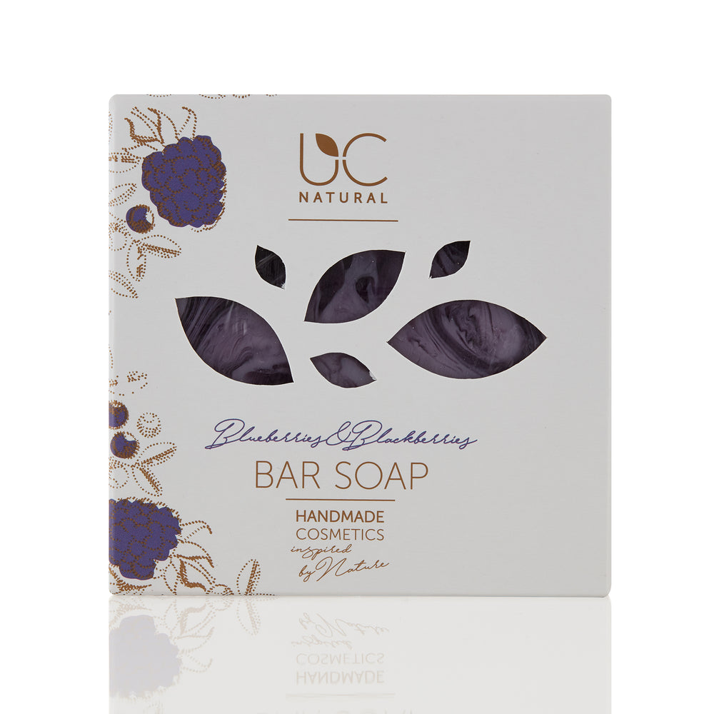 Blueberries & Blackberries Bar Soap