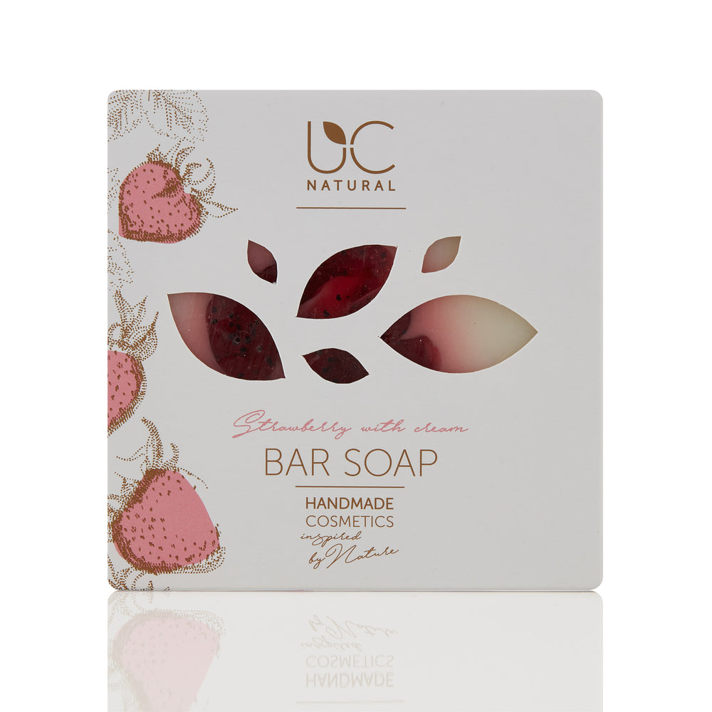Strawberry With Cream Bar Soap