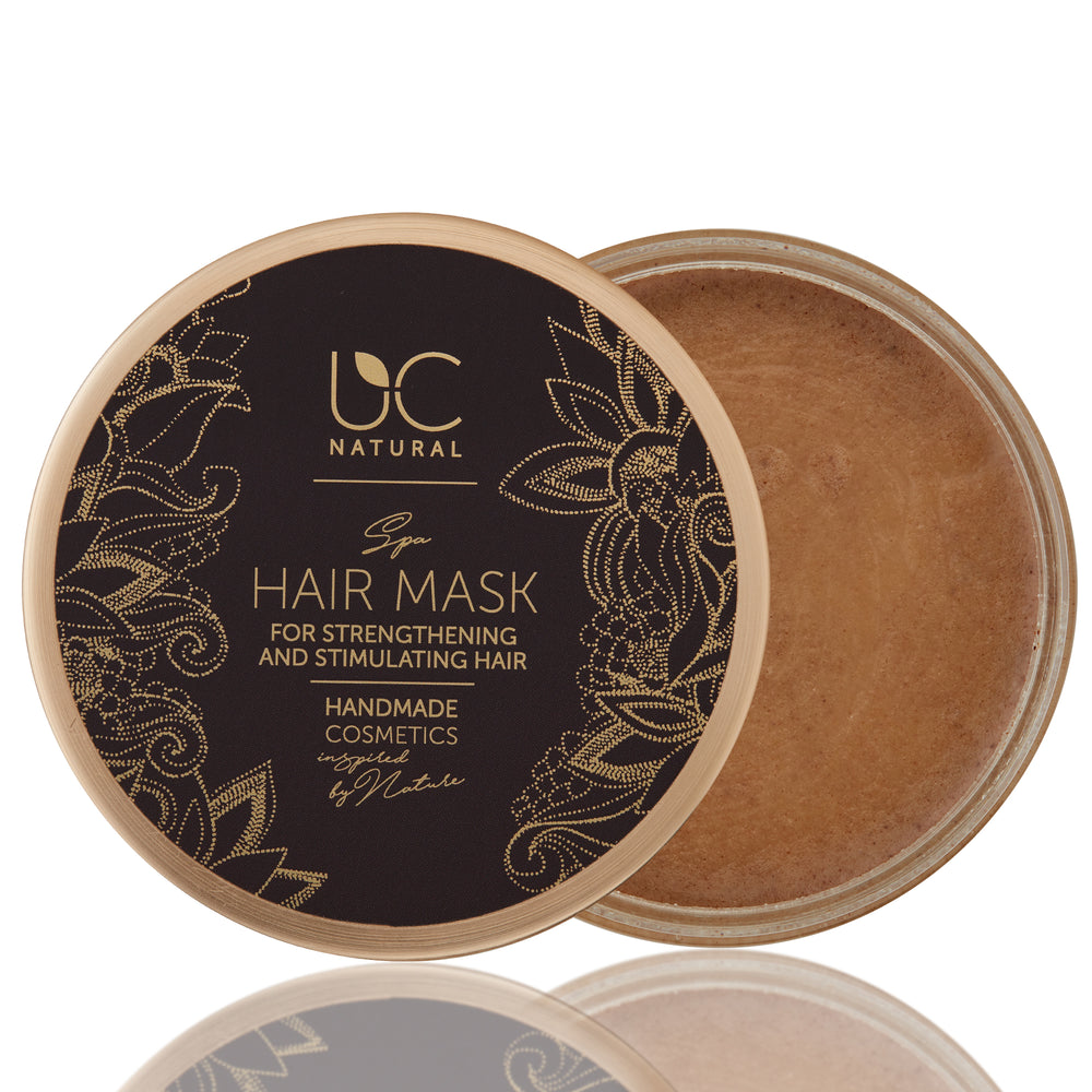 Spa Hair Mask For Strengthening And Stimulating Hair Growth