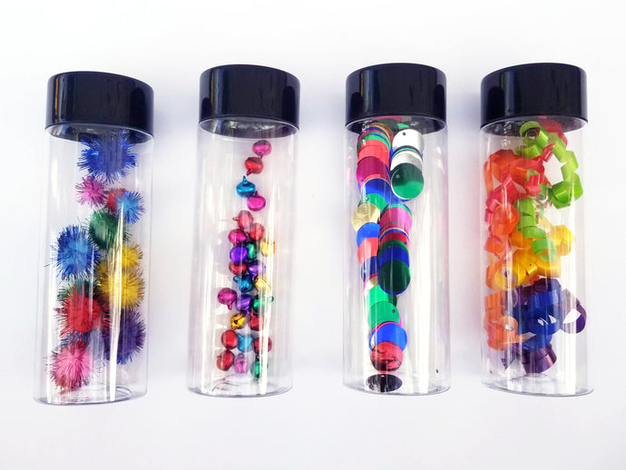 Sensory bottles for babies- Set A - Wonder's Journey
