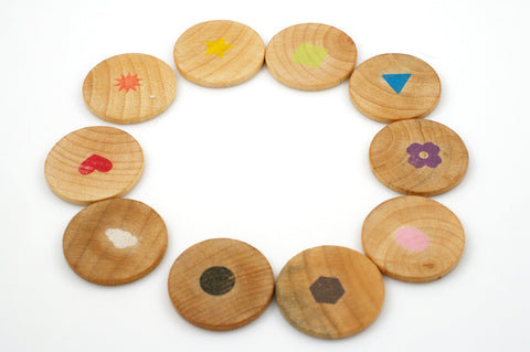 Color and shape sorting circles