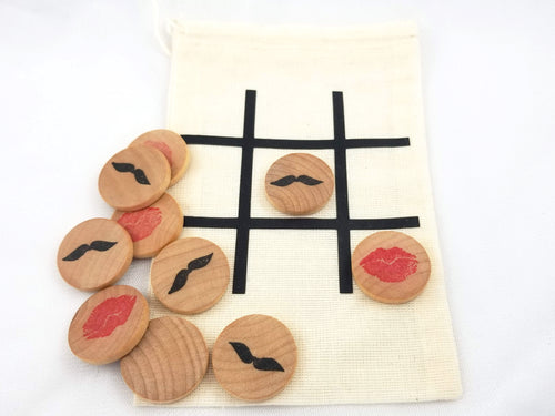 Valentine's Day tic tac toe - Wonder's Journey