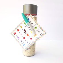 Load image into Gallery viewer, The Essential I spy bottle with white rice - Wonder's Journey