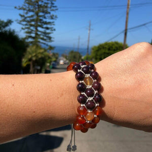 handcrafted fertility bracelet
