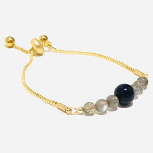 blue sandstone protection bracelet