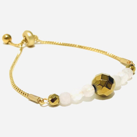 Happiness and Joy Minimalist Bracelet