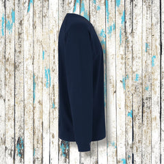 """MOIN"" Kerle Sweatshirt Fair Trade (Navy) - Ankerglanz"