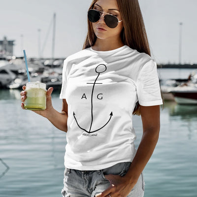 """Thin Anchor"" Mädels BIO Shirt"