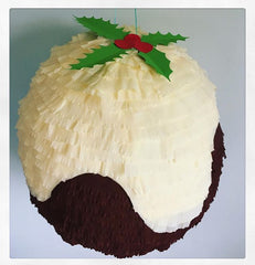 Christmas Pudding Pinata