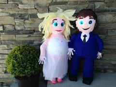 Wedding Couple Pinata