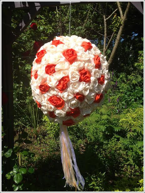 floral wedding pinata