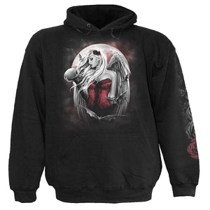 ANGEL OF DEATH - Hoody Black