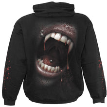 Load image into Gallery viewer, GOTH FANGS - Hoody Black