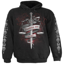 Load image into Gallery viewer, BLIND JUSTICE - Hoody Black