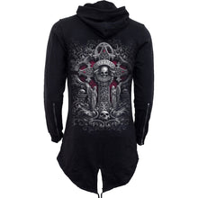 Load image into Gallery viewer, IN GOTH WE TRUST - Mens Fish Tail Zipper Hoody - Zip Sleeves