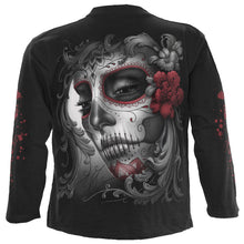 Load image into Gallery viewer, SKULLS ROSES - Longsleeve T-Shirt Black
