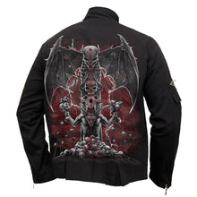 Load image into Gallery viewer, DEMON TRIBE - Orient Goth Jacket Black