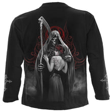 Load image into Gallery viewer, DEAD KISS - Longsleeve T-Shirt Black