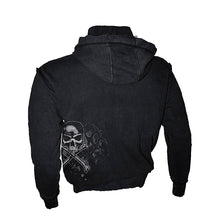 Load image into Gallery viewer, TOXIC  - Longsleeve Vintage Hoody Black
