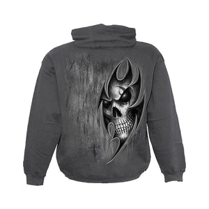 DEATH TRAP  - Hoody Charcoal